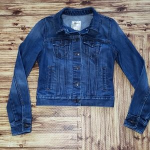 Jean Jacket Crop Style X-small Old Navy Casual